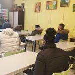 """17/02/2021: Intervention d'Abel Boyi - module FR """"Théories du comportement"""" - auprès des jeunes de """"Femmes sans frontière"""""""