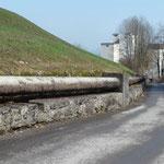 Druckleitung zum eigenen Wasserkraftwerk