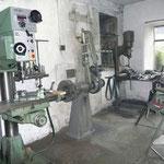 Blick in die übrige Werkstatt