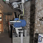 Generator und Steuerung der Wasserklappe