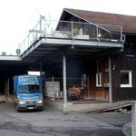 Die Mosterei betreibt auch einen Getränkehandel.