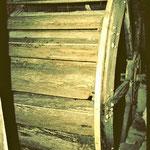 Altes Holzrad bei der Oberen Säge (bis 2004)