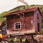 Die Messerschmiede hebt ab zu ihrer ersten Versetzung (Frühling 1978).