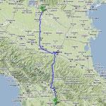 Rückfahrt nach Verona