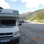 Parkplatz am Brenner