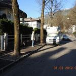 Übernachtungsplatz in Brixen