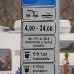 Stellplatz in Castellina in Chianti