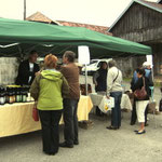 Marché bio Saint-Julien-les-Russey le 12 septembre 2009