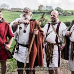 Kelte und römische Legionäre im Jahr 2014