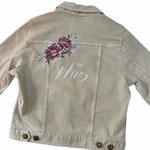 design voor op jas