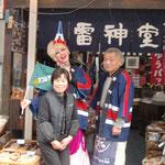 2011.3.31 大道芸パフォーマー「アコる・デ・ノンノン」が来店。
