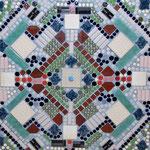 Mosaik-Relief, 210 x 64 cm, 3700 €