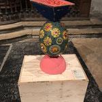 Mosaik-Kunst  als Objekt