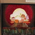 Mosaik-Kunst  mit Farbglas