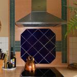 Küchenrückwand in Mosaik