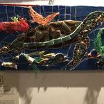 kreative Mosaik-Kunst