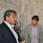 Il Sindaco di Palmanova Martines con il Presidente della Regione FVG Serracchiani