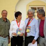 und Prominente Teilnehmer Graf Kari Khevenhüller Burgherr zu Hochosterwitz und Martha Weisböck