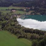 über den See zum Seebauer und Leitenbauer