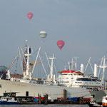 viele Schiffe