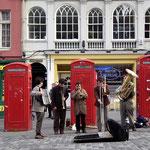 Straßenmusik in Edinburgh