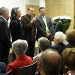 Die Präsentation mit Moderator Gerhard Buchacher