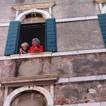 "Blick aus ""unserem"" Palazzo"