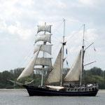mit vielen alten Schiffen
