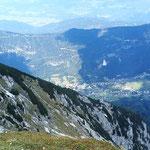 da unten ist Bad Bleiberg mit Kurzentrum