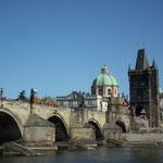 Karlsbrücke nur für Fußgänger