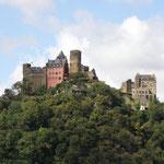 ...und viele Burgen.