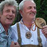 mit dem Sieger Bruno Rernböck