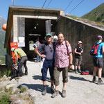 Rucksacktransort zur Braunschweigerhütte