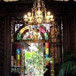 Hoteleingang in La Orotava...