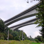Autobahnbrücke vor Villach