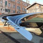 Venedig beim Gondelbauer