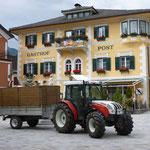 am Hauptplatz von Oberdrauburg