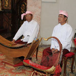 Musik aus Burma...