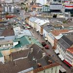 Blick von der Stadtpfarrkirche Villach