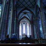Chagallfenster in Mainzer Kirche
