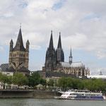Köln, der Dom und...