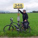Erinnerung an die OMV Gasleitung 348 km von Baumgarten