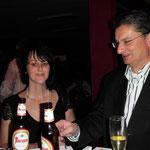 Inge und Harald Kraxner, jetzt vor der Theke