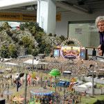 im Miniatur Wunderland - Rockkonzert