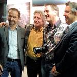Stadtrat Rudi Egger und BGM Konrad Seunig