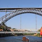 Ankunft in Porto