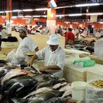 am Fischmarkt von Manaus