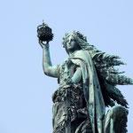 Germania Statue oberhalb von Rüdesheim