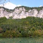 Drau (steil) Ufer