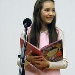 Anja Osinger bei der Lesung
